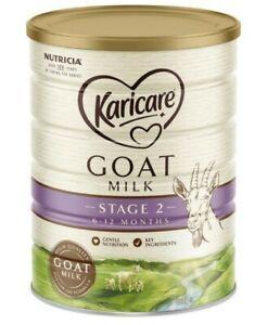 Karicare Goat Milk Stage 2 Baby formula 900g 6 - 12 months baby feed baby powder