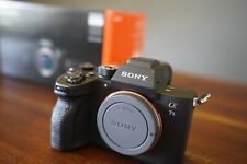 Sony Alpha a7S III Mirrorless Digital Camera (Body only) w/ original box *MINT*