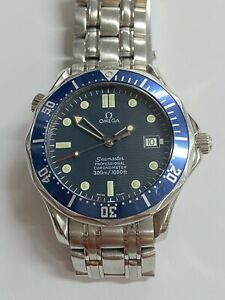 OMEGA SEAMASTER PROFESSIONAL 300m BLUE WAVE 41mm 168.1623  CHRONOMETER CAL 1120