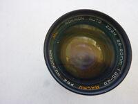 Rokinon 28-80mm Auto Zoom Lens w/ Hoya 58mm UV AF EF 1:3.5-5.6 II - RARE