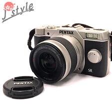 [EXC] Pentax Q10 Silver w/02 5-15mm Zoom Lens Kit 12.4MP Digital Camera