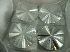 Zinik Wheels Chrome Custom Wheel Center Caps # Z-3 (4 CAPS)