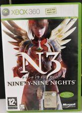 XBOX 360 N3 : NINETY-NINE NIGHTS  ITALIANO OTTIMO STATO COMPLETO Solo su xbox