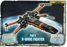 Lego Star Wars™ Série 1 Cartes à Échanger Carte 210 - Véhicule Poe `S Fighter