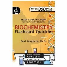 Biochemistry Flashcard Quicklet: Flash Cards in a Book for Biochemistry Students