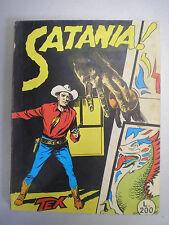 "TEX GIGANTE N. 5 ""Satania!"" L.200 7-1964 aut.2926 no spillato, edicola lente"