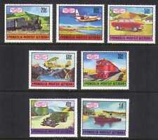 Mongolia 1971 Train/Plane/Car/Lorry/Boat 7v set (b6741a
