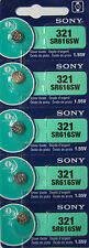 Button Cell Type 321 Battery Sony 5 Pcs