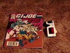 GI JOE # 1 3D COMIC BOOK W/ GLASSES