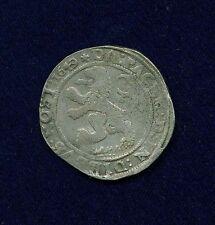 NETHERLANDS   ZWOLLE  1649  1 LION DAALDER SILVER COIN, VF