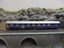 Heris 14501 T2s Schlafwagen der DSB blau TEN H0