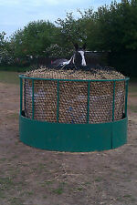 """Giant round bale hay net slow feed saver silage horse 2"""" trickle feed UK made"""