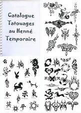 CATALOGUE DE TATOUAGES 400 MODELES NEUF