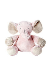 New Born Baby Girls Soft Toy Cuddly Toy Stuffed Animal Elephant Gift Christening