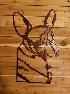 "18"" Brown Chihuahua dog-  Drawn up and Hand Made in Waco Texas"