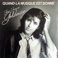 """Jean-Jacques Goldman 7"""" Quand La Musique Est Bonne - France (EX/VG+)"""