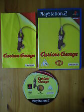 Curious George RARE PS2 GAME! COMPLETE! PAL Monkey/Africa/Puzzle/Primate/Ape