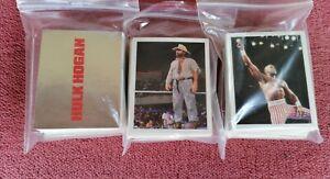 WWF WRESTLING Merlin 1992  Complete stickers Set