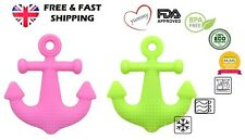 Yummy Baby Anchor Teething Teether Silicone Teether Soother Teething Toy -1/pack