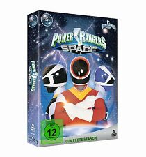 Power Rangers in Space - Complete Season [5x DVD] *NEU* DEUTSCH