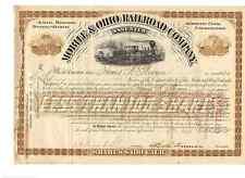 Mobile & Ohio Railroad Company  1888