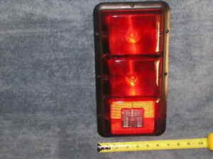 RV OEM 3 Bay Bargman Recessed Brake Tail Turn Backup Light 12vLamp