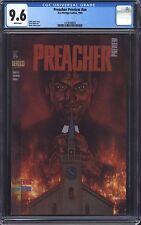 PREACHER PREVIEW CGC 9.6 NM+ / Predates Preacher #1! Garth Ennis! TV Show!