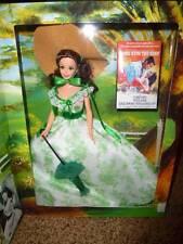 Barbie Gone Wind 1994 Scarlett Green Dress Doll Hollywood Legends 12997 Nrfb