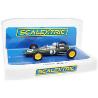 Scalextric C4083 Lotus 25 - Monaco GP 1963 - Jack Brabham 1/32 Slot Car