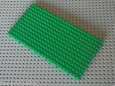 Plaque epaisse LEGO Green 12 x 24 ref 30072 / set 6093 6087 6097 6091 6098 10176