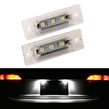 ECLAIRAGE PLAQUE LED VW TOURAN 02/2003-05/2010 LED BLANC XENON FEUX