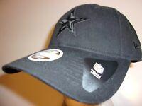 New Era 9Twenty Dallas Cowboys NFL Football Cap Hat Women's adjustable black out