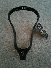 New Under Armour Command D lacrosse head unstrung- black