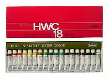 Holbein Artists Transparent Watercolor 18 Colors Set #2 Tube (5ml) #110 F/S