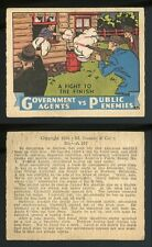 1936 R61 Govt. Agents vs Public Enemies #205 Fight To The Finish G/VG  *AA-8696*