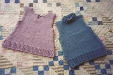 Bulky Knit Top Ann Norling KNITTING PATTERN #50 Knit for Women 4 sizes 2 styles