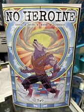 No Heroine #2 Colm Griffin Variant Space Cadets Source Point Press Comic In Hand
