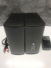 Bose Companion 2 Series II Multimedia pc laptop computer Speaker System Graphite