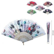 Lot of 10 Pretty Mix Color Ladies Folding Hand Fan Free Shipping