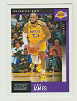 2019-20 Panini Chronicles SCORE #607 LeBRON JAMES Los Angeles Lakers