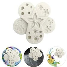 DIY Lace Flower Silicone Fondant Mat Mold Chocolate Cupcake Baking Mould Tools