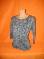 Damen Sommer Shirtbluse Bluse von s. Oliver Gr. 38 (M) Braun / Schwarz