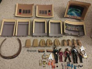 Playmates Star Trek Next Generation Enterprise Bridge Playset Incomplete 1993