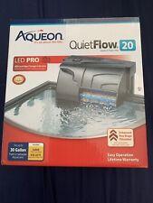 Aqueon QuietFlow 20 Aquarium Power Filter
