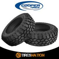 (2) New Cooper Evolution M/T LT285/70R17/10 121/118Q OWL All Terrain Mud Tires