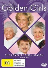 GOLDEN GIRLS Season 6 (Region 2 UK Compatible) DVD The Complete Series Six