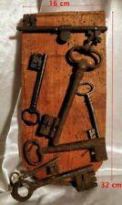 Serrures, cadenas et clés de collection lots