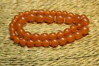 Vintage 30.8 gr. Original Genuine Natural Pressed Baltic Amber Necklace Beads