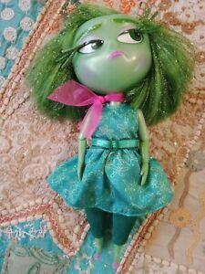 Disney Pixar Inside Out Disgust Figurine 2015 Snide Remarks Talking Doll