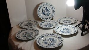 """Blue Danube Dinner Plates Japan 10 1/2"""" pre owned good condition"""